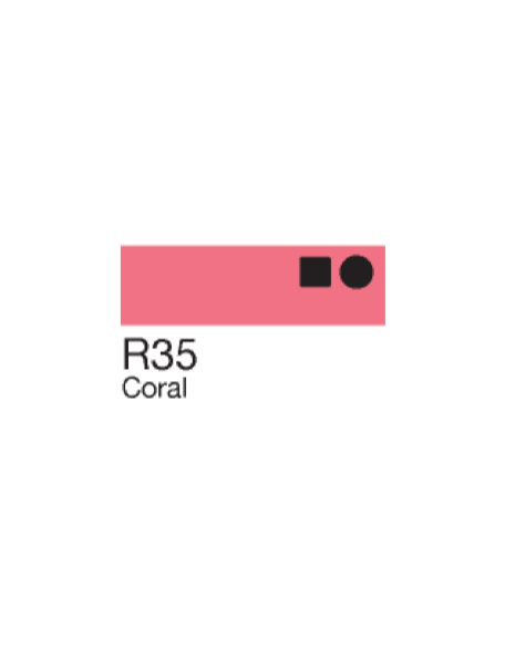 Copic Sketch Markers Coral R35