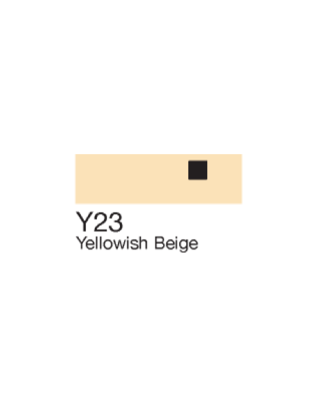 Copic Sketch Markers Yellowish Beige Y23