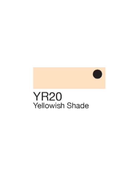 Copic Sketch Markers Yellowish Shade YR20