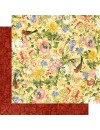 """Graphic 45 Floral Shoppe Double-Sided Cardstock 12""""X12"""", Golden Serenity"""