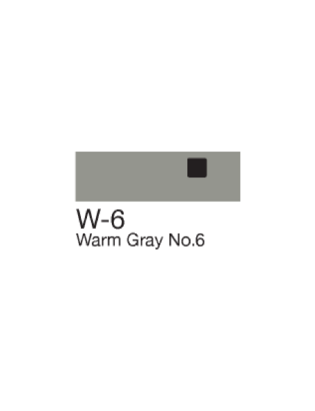 Copic Sketch Markers Warm Gray W6