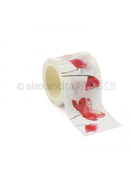 Alexandra Renke Washi Tape Amapola Roja/Roter Mohn