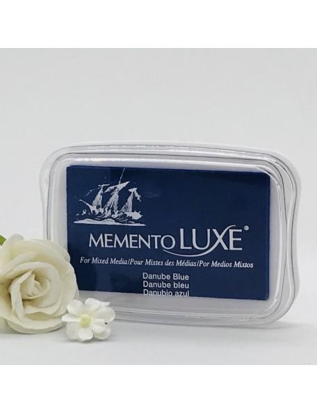 Memento Luxe Ink Pad, Danube Blue