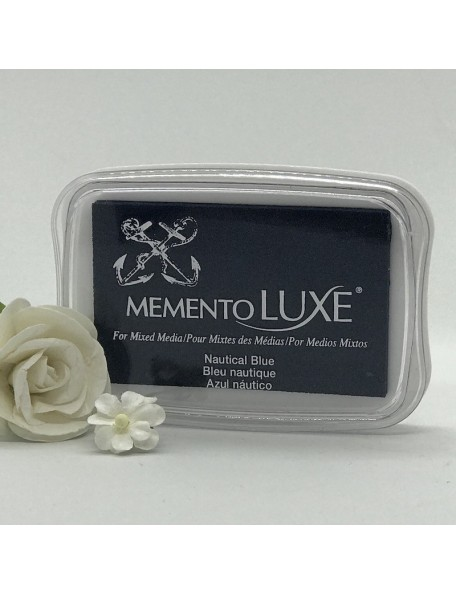 Memento Luxe Ink Pad, Nautical Blue