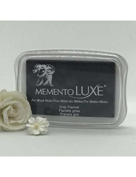 Memento Luxe Ink Pad, Gray Flannel
