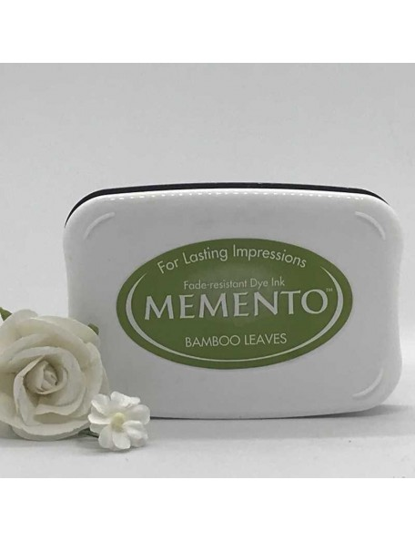 Memento Dye Ink Pad, Bamboo Leaves