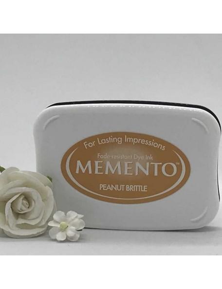 Memento Dye Ink Pad, Peanut Brittle