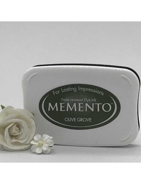 Memento Dye Ink Pad, Olive Grove