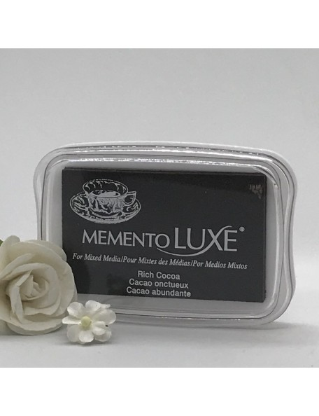 Memento Luxe Ink Pad, Rich Cocoa