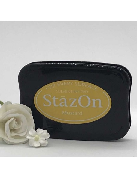 StazOn Solvent Ink Pad, Mustard