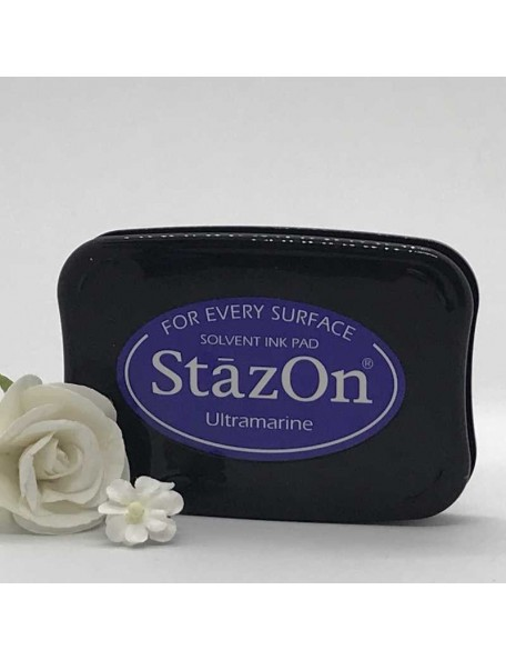 StazOn Solvent Ink Pad, Ultramarine