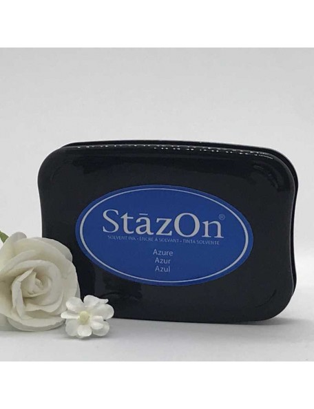 StazOn Solvent Ink Pad, Azure