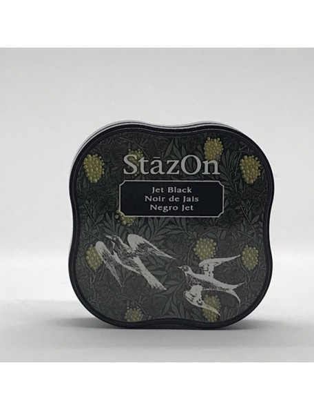 StazOn Midi Ink Pad, Jet Black