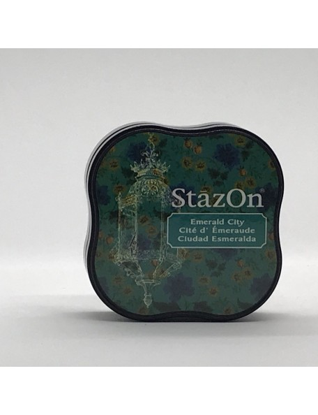 StazOn Midi Ink Pad, Emerald City