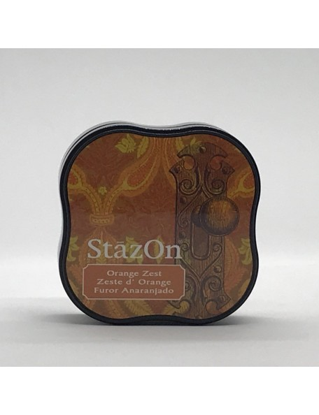 StazOn Midi Ink Pad, Orange Zest