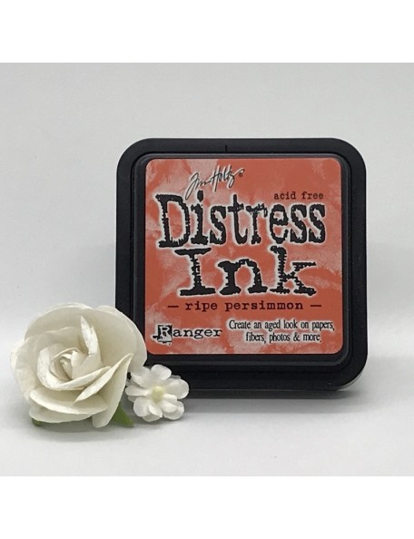 Tim Holtz Distress Ink Pad, Ripe Persimmon