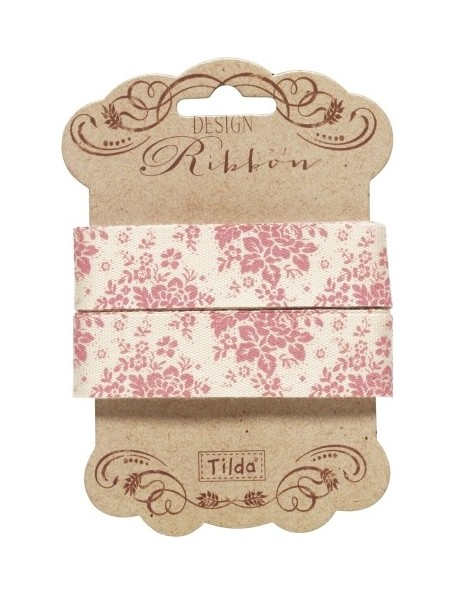 Tilda pack cintas decorativas Audrey 20 mm 3 mts. Rosa