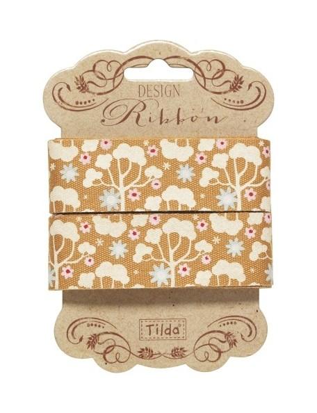 Tilda Band Wild Garden 25mm, Yellow