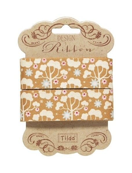 Tilda pack cintas decorativas Wild Garden 25 mm 3 mts. Amarillo