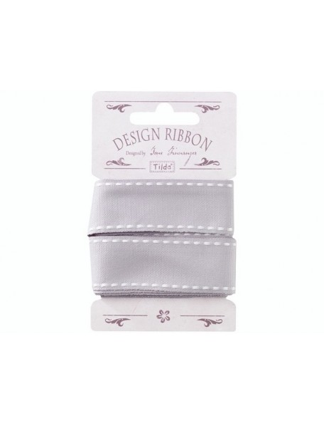 Tilda cinta Seams Gris 25 mm 3 mts.