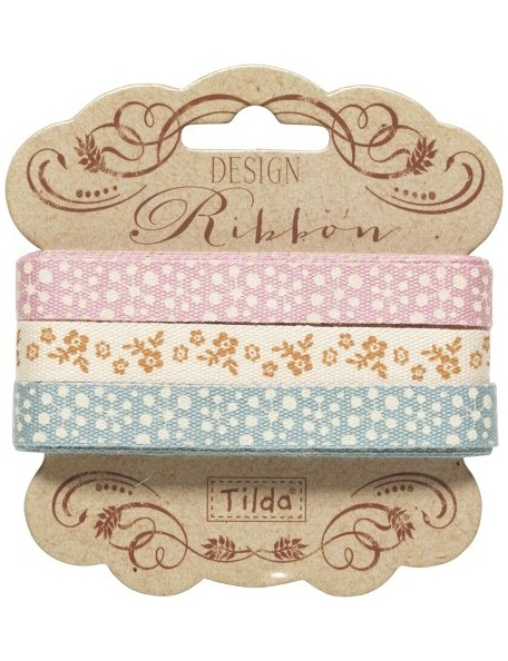 Tilda pack cintas decorativas Spring 10 mm 3x2 mts.