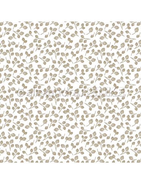 Alexandra Renke Cardstock de una cara 30,5x30,5 cm, Tarjetas /Goldene Zapfen