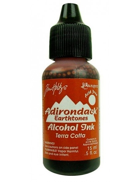 Tim Holtz Terra Cotta Adirondack Earthtones Alcohol Ink .5oz