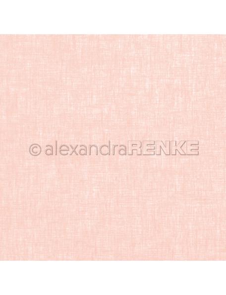 Alexandra Renke Cardstock de una cara 30,5x30,5 cm, Lino Rosa/Leinen rosa