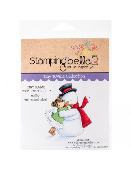 Stamping Bella Cling Stamps, Frida Loves Frosty