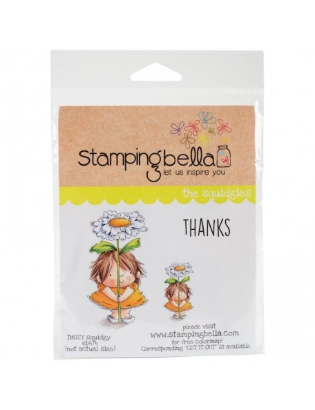 Stamping Bella Cling Stamps, Daisy Squidgy