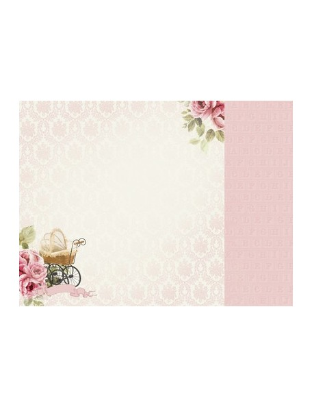 "Kaisercraft Pitter Patter Cardstock de doble cara 12""X12"", Special Delivery"