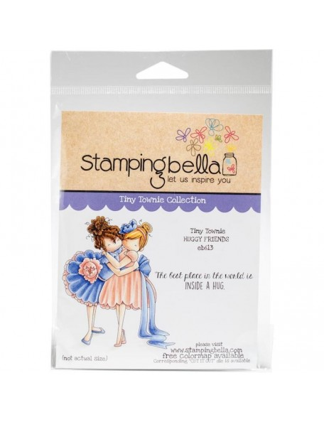 Stamping Bella Cling Stamps, Tiny Townie Huggy Friends