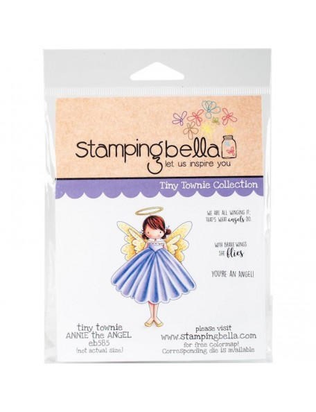 Stamping Bella Cling Stamps, Annie Is An Angel