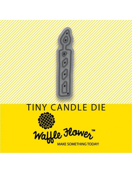 Waffle Flower Die, Tiny Candle