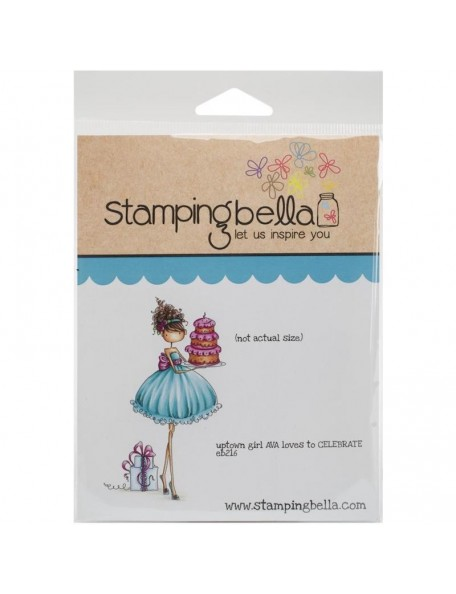 Stamping Bella Cling Stamps, Ava Loves To Celebrate