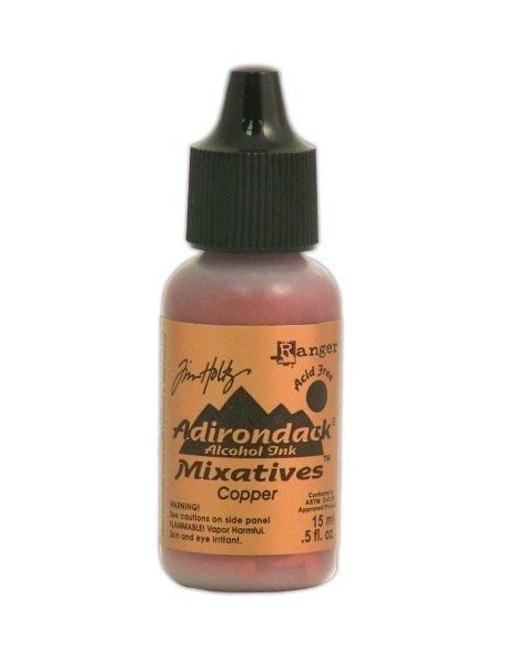 Tim Holtz Mixatives Cooper Adirondack Alcohol Ink .5oz