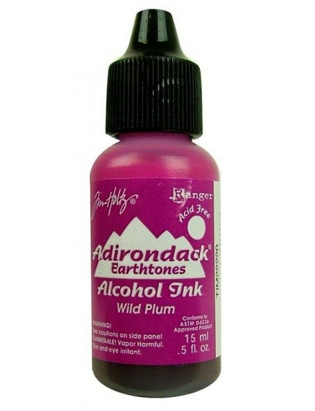 Tim Holtz Wild Plum Adirondack Earthtones Alcohol Ink .5Oz