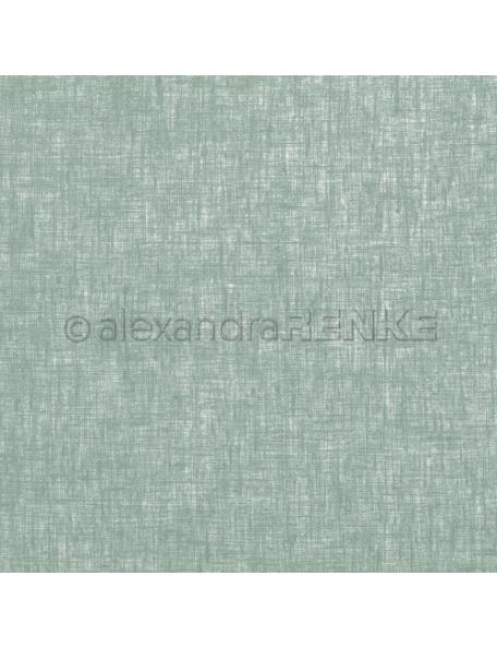 Alexandra Renke Cardstock de una cara 30,5x30,5 cm, Lino Verde Oscuro/Leinen Dunkelgrün