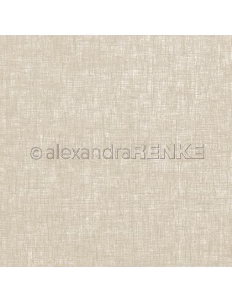 Alexandra Renke Cardstock de una cara 30,5x30,5 cm, Lino Barro/Leinen Schlamm