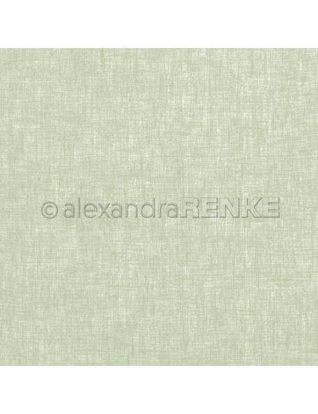 Alexandra Renke Cardstock de una cara 30,5x30,5 cm, Leinen Kleegrün
