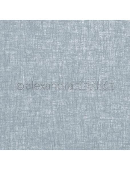 Alexandra Renke Cardstock de una cara 30,5x30,5 cm, Leinen Dunkelblau