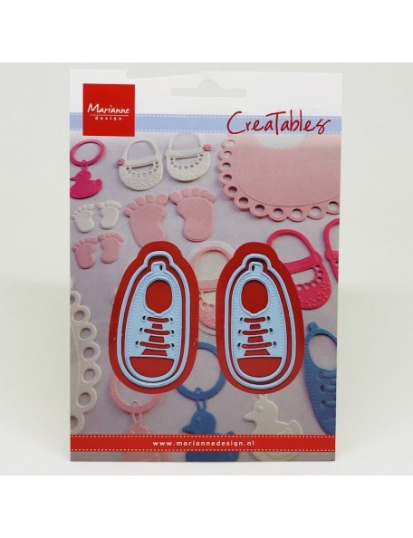 """Marianne Design Creatables Dies, My First Sneakers, Up To 1.125""""X2.125"""""""