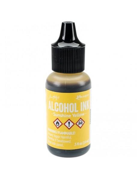 Tim Holtz Sunshine Yellow Adirondack Alcohol Ink .5oz