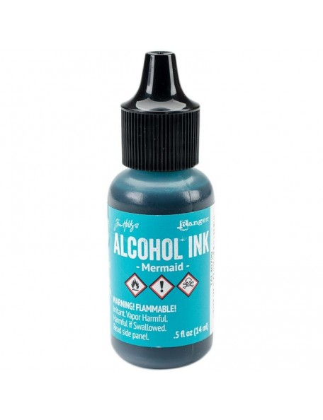 Tim Holtz Mermaid Adirondack Alcohol Ink .5oz
