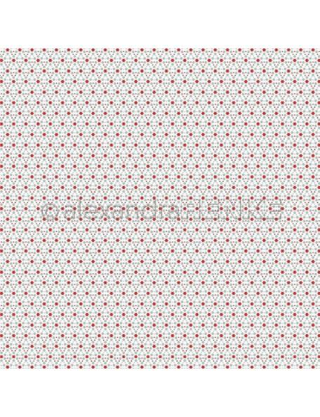 Alexandra Renke Cardstock de una cara 30,5x30,5 cm, Muster Sterne mit Punkte