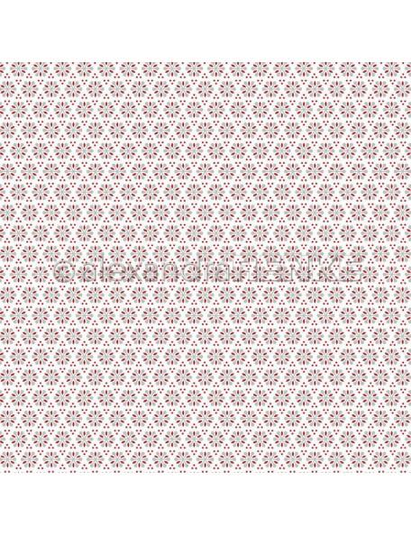 Alexandra Renke Cardstock de una cara 30,5x30,5 cm, Schneeflockenblume Muster