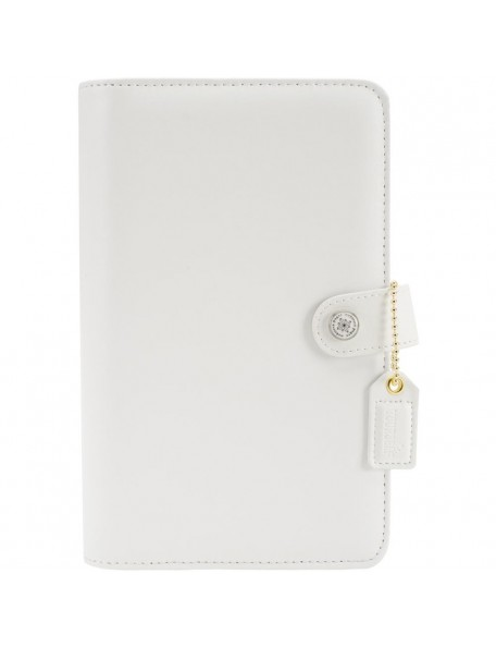 """Webster's Pages Color Crush A5 Faux Leather 6-Ring Planner Binder 7.5""""X10"""" , sin Hojas"""