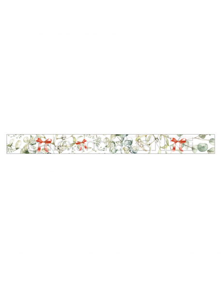 Alexandra Renke Washi Tape Mistletoe wreath