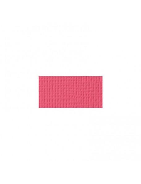 """American Crafts Textured Cardstock 12""""X12"""", Lollipop"""