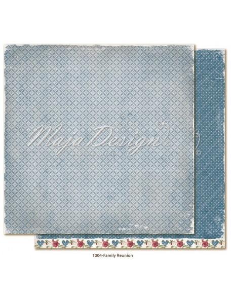 """Maja Design Christmas Season Cardstock de doble cara 12""""x12"""", Family reunion"""